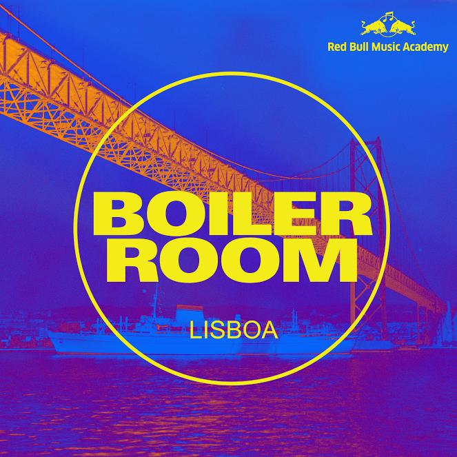 Red Bull Boiler Room em Lisboa a 17 de Janeiro