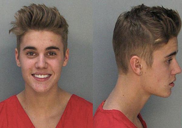 Justin Bieber foi preso