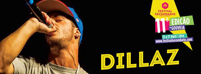 Dillaz confirmado no Moche Festival Secundário