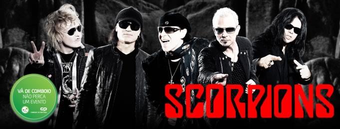 Vá de comboio ao concerto dos Scorpions