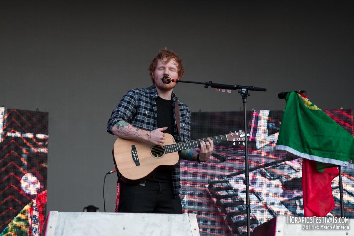 Digressão mundial de Ed Sheeran passa pelo Estádio da Luz a 1 de Junho