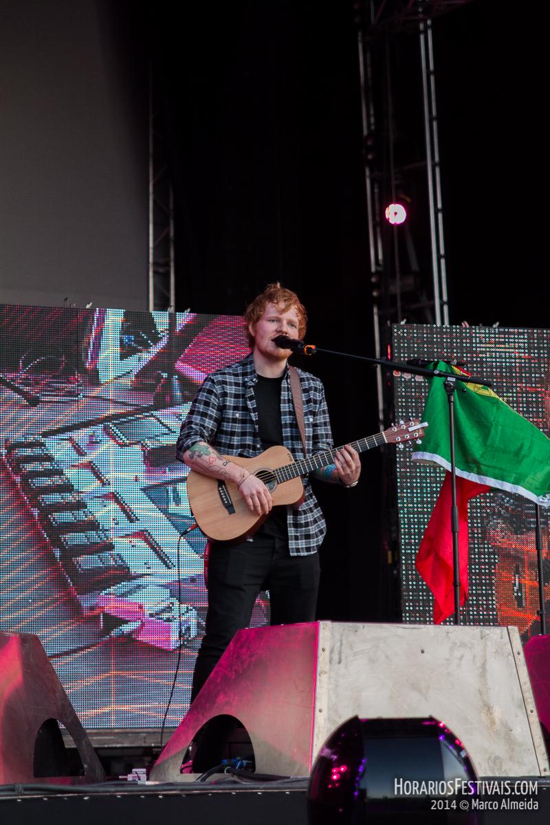 James Bay, Zara Larsson e Ben Kweller são convidados de Ed Sheeran no Estádio da Luz
