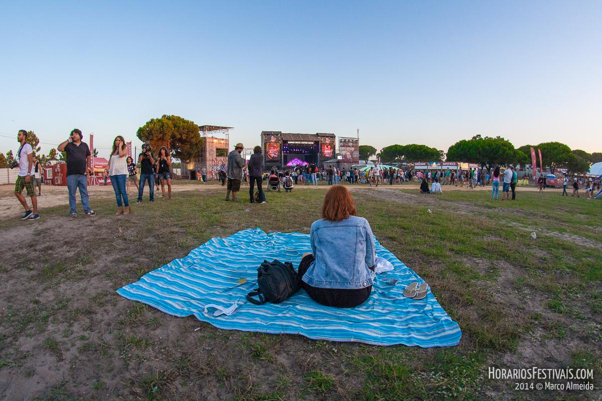 Super Bock Super Rock volta ao Meco na sua 25ª edição