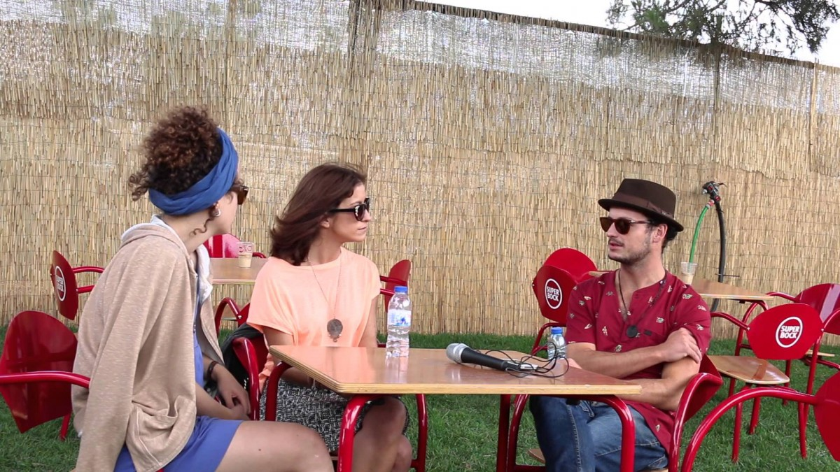 Em conversa com os For Pete Sake no Super Bock Super Rock