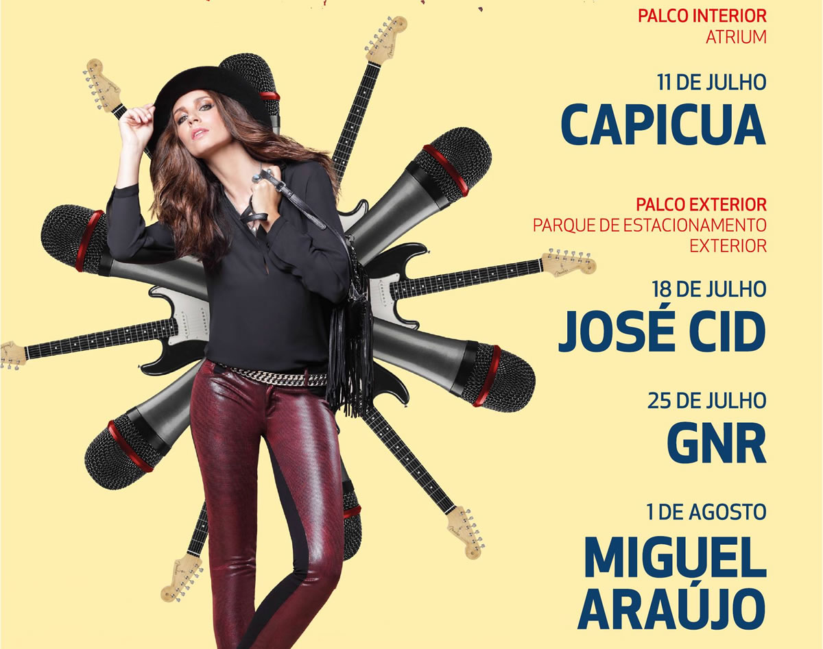 Capicua abre festival de música gratuito no Mar Shopping, em Matosinhos