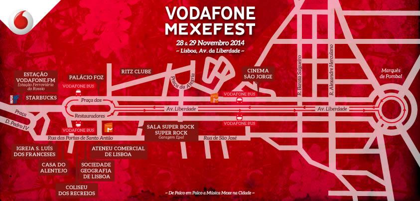 Anunciados todos os espaços da edição de 2014 do Mexefest