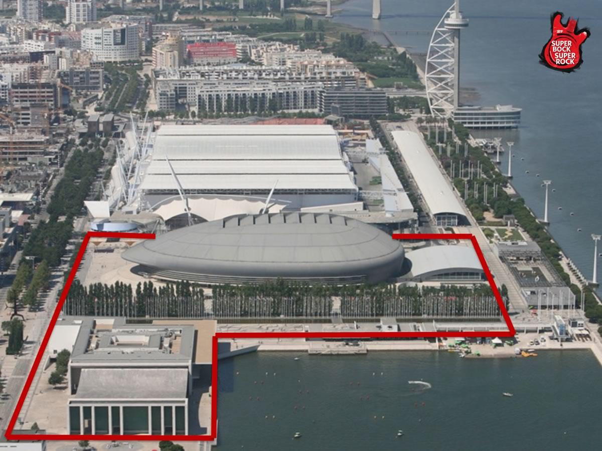 Estacionamento e transportes para o Super Bock Super Rock 2015