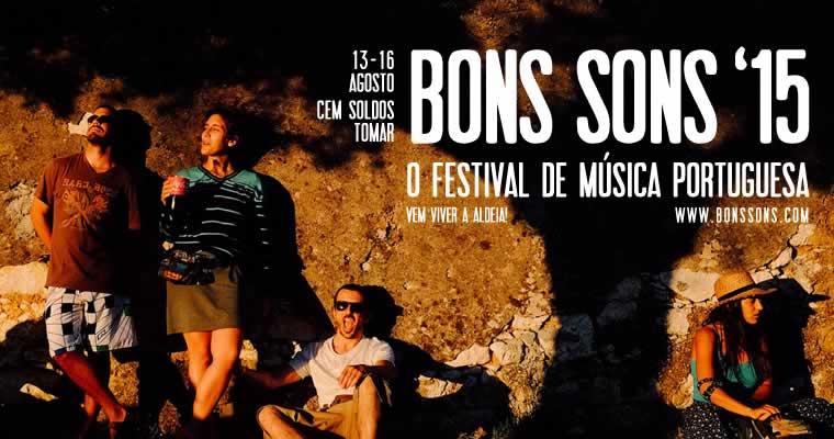 Bons Sons, agora em edição anual, de 13 a 16 de Agosto