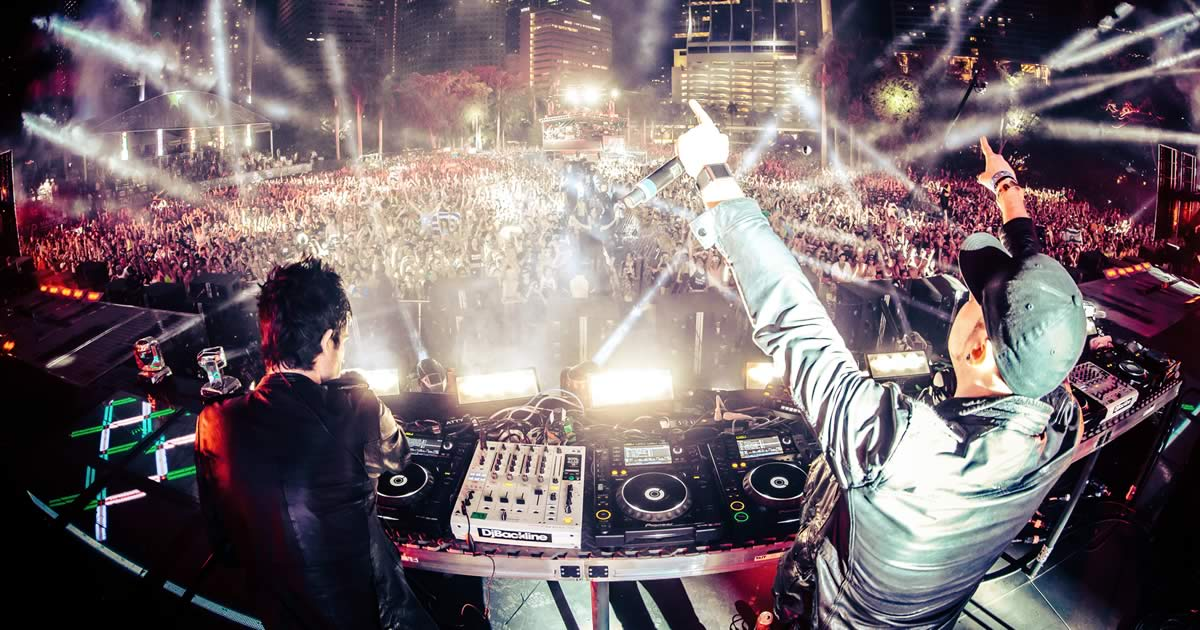 Knife Party, Dragonette e Dj Glue na Welcome Party do Sumol Summer Fest