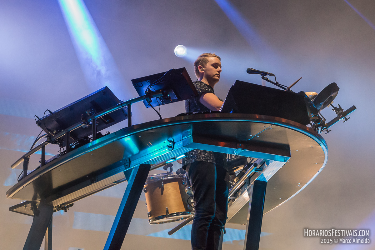 Vê todas as fotos de Disclosure no NOS Alive