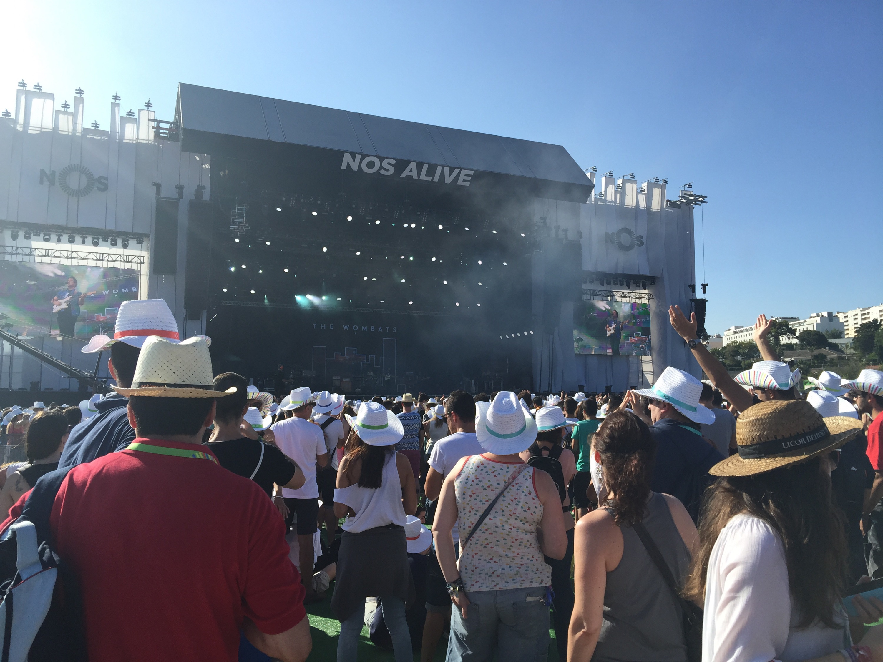 The Wombats no #nosalive