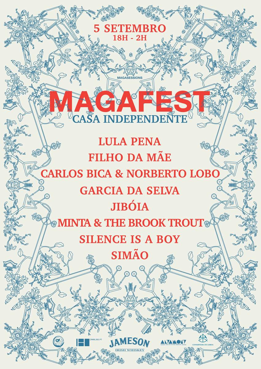 2ª edição MAGAFEST, 5 de Setembro, 18h-2h, Casa Independente
