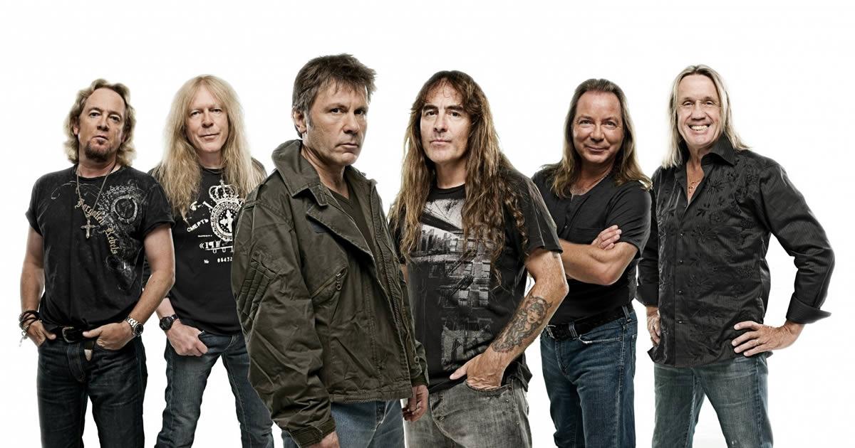 Iron Maiden em Portugal a 11 de Julho, MEO Arena