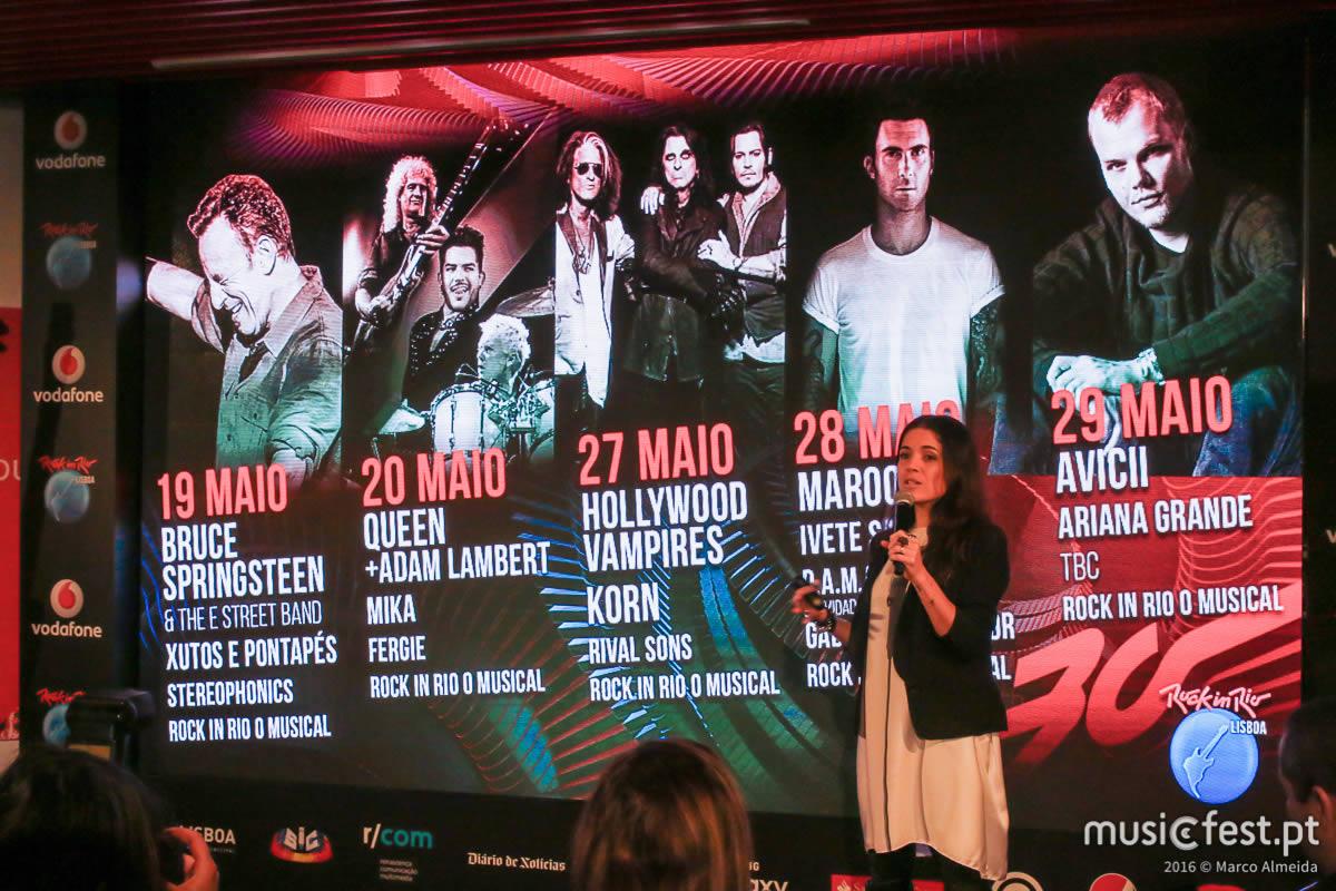 Avicii, Ariana Grande e os D.A.M.A anunciados no Rock in Rio Lisboa