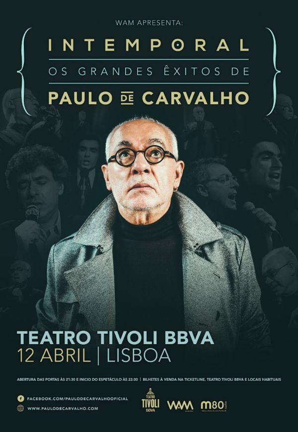 Paulo de Carvalho - Os Grandes Êxitos no Tivoli a 12 de Abril
