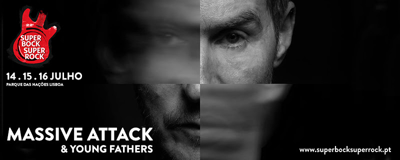 Massive Attack & Young Fathers confirmados no SBSR