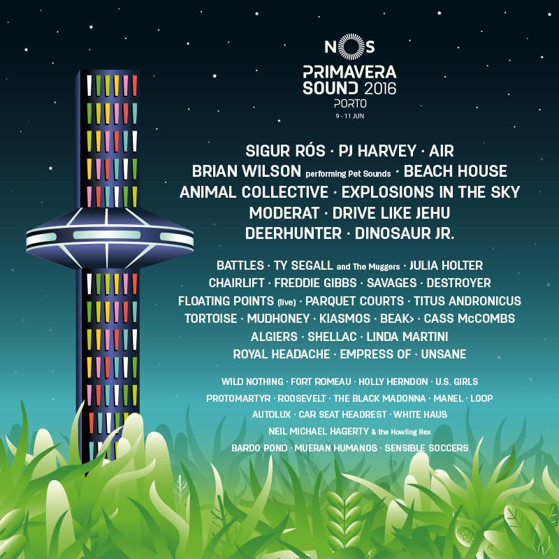Anunciado o line-up completo do NOS Primavera Sound 2016