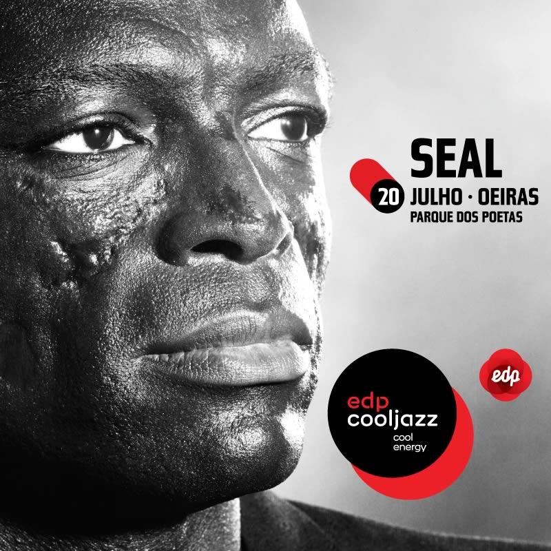 Seal é a primeira confirmação do edpcooljazz 2016