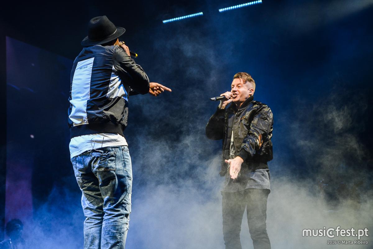Vê todas fotos de Macklemore & Ryan Lewis no MEO Arena