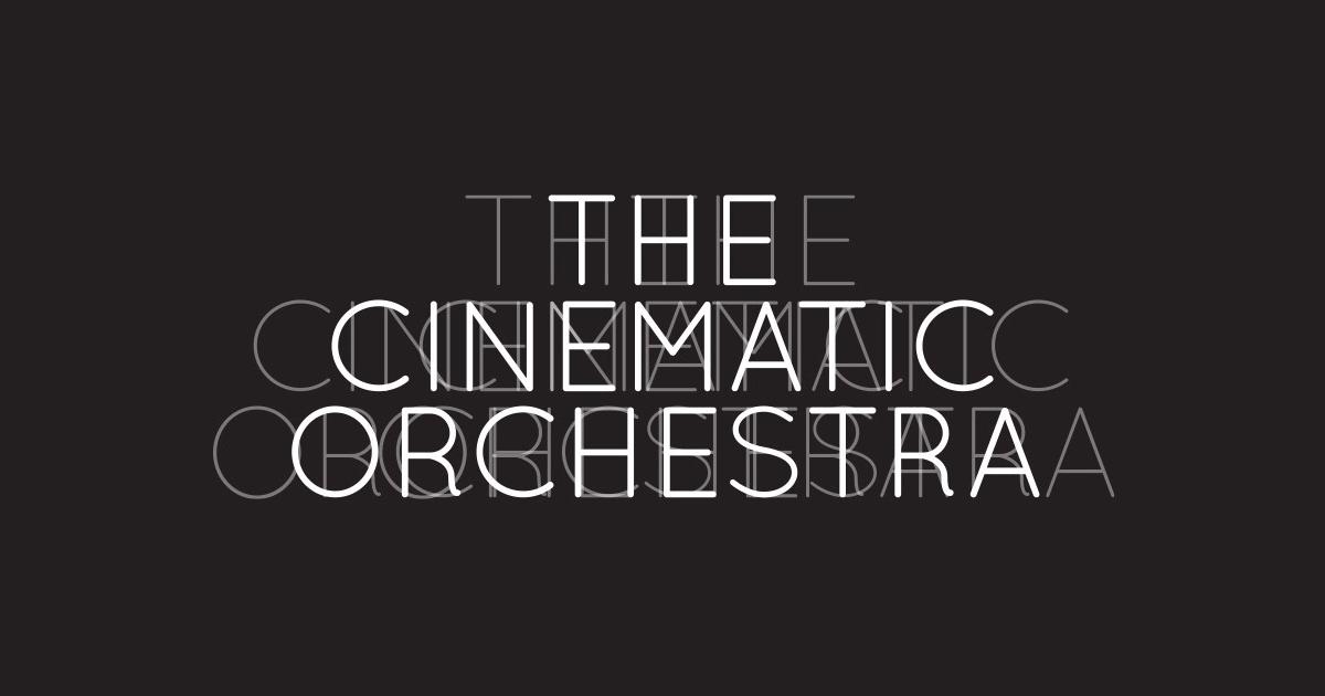 The Cinematic Orchestra a 17 de Julho no edpcooljazz
