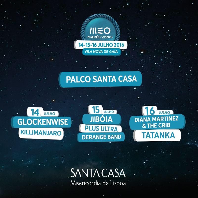 Foi divulgada a programação do Palco Santa Casa no MEO Marés Vivas 2016