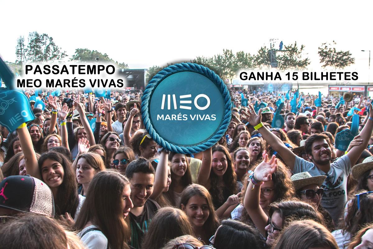 Passatempo: 15 bilhetes para o MEO Marés Vivas 2016