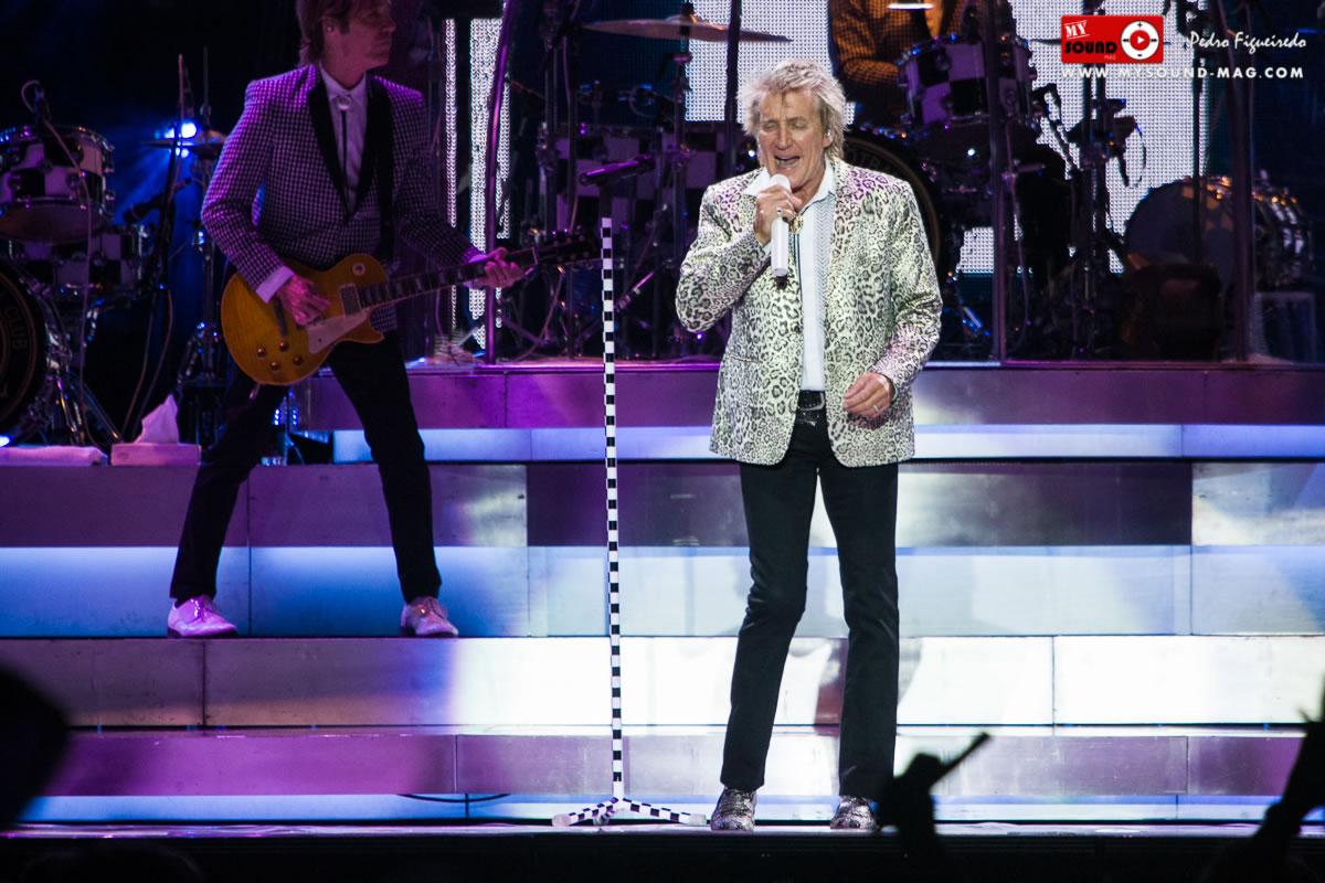 Rod Stewart: a reluzir desde os anos 60 - A reportagem no MEO Arena