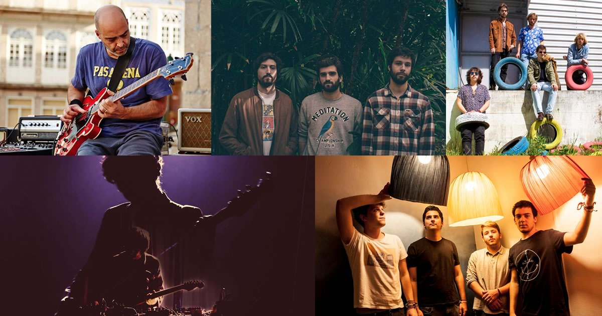 Ganso, Ditch Days, Ghost Hunt, Whales e Desligado no Indie Music Fest