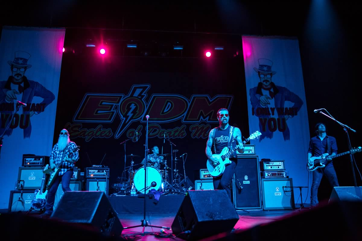 Festival do Crato confirma Eagles of Death Metal
