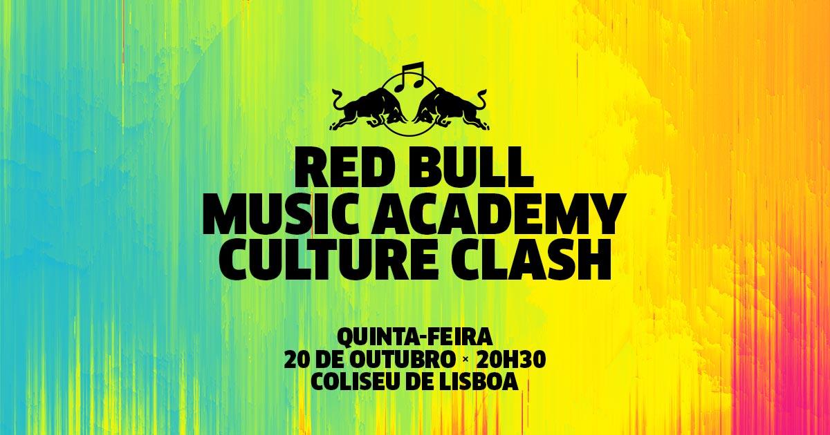 Red Bull Music Academy Culture Clash dia 20 de Outubro em Lisboa