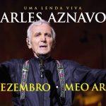 Charles Aznavour: A lenda viva da canção francesa a 10 de Dezembro em Lisboa
