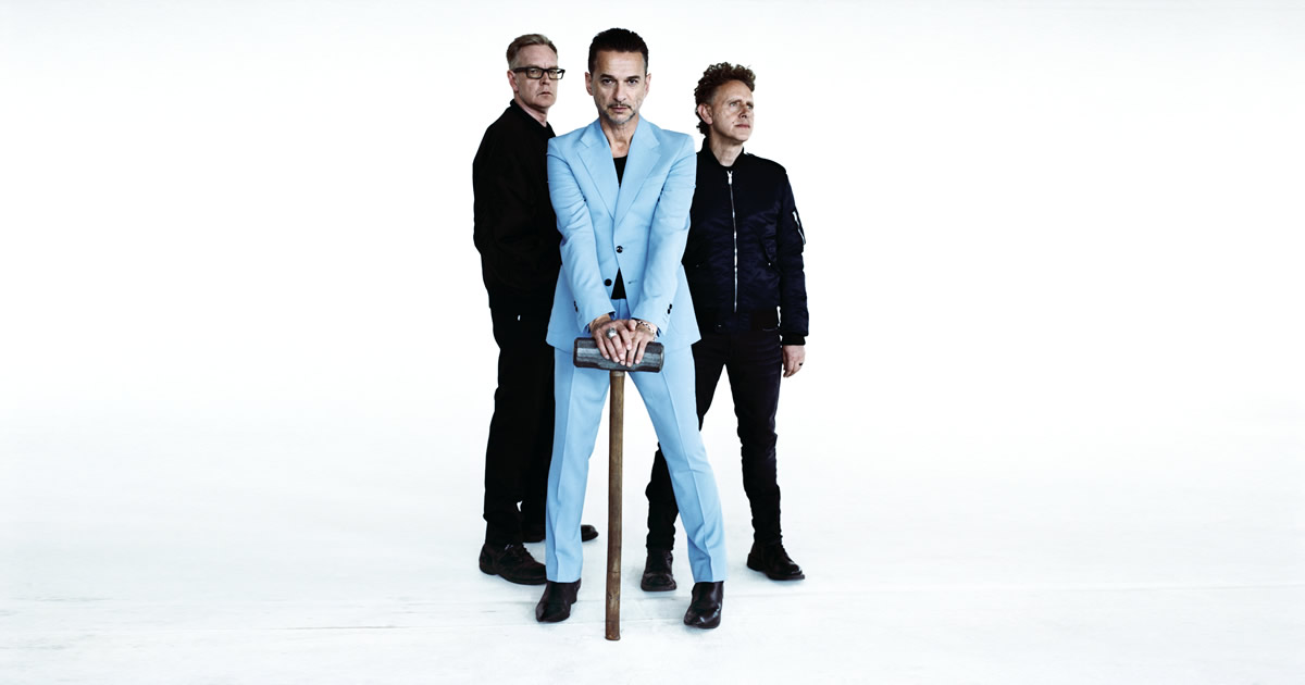 Depeche Mode inauguram o cartaz do NOS Alive 2017