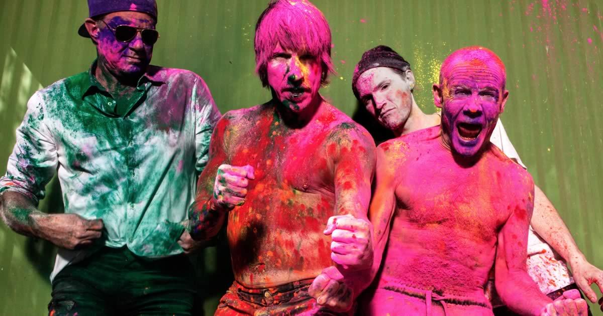 Red Hot Chili Peppers confirmados na edição 2021 do NOS Alive