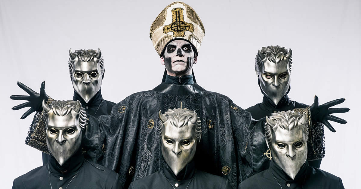 Ghost apresentam The Popestar Tour na Sala Tejo do MEO Arena a 15 de Abril de 2017