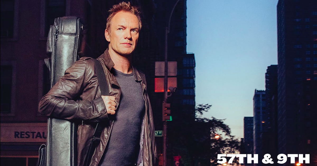 """Sting's 57th & 9th Tour"" passa pelo MEO Marés Vivas a 16 de Julho"