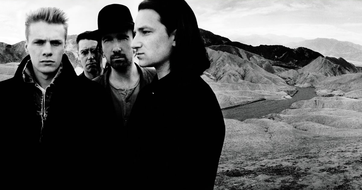 "U2 anunciam tours norte-americana e europeias ""The Joshua Tree"""