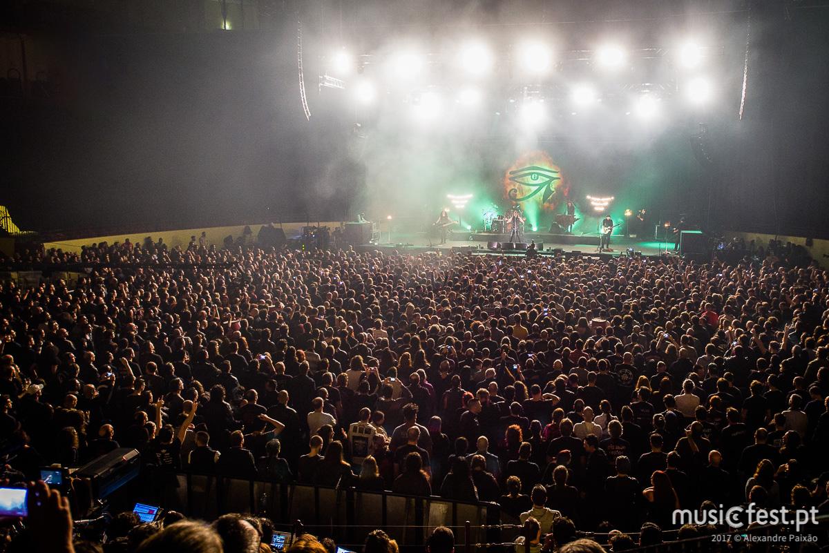 Novo CD/DVD dos Moonspell, ao vivo no Campo Pequeno, lançado a 17 de Agosto