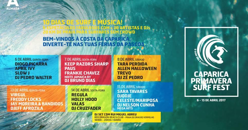 Passatempo: Passes para o Caparica Primavera Surf Fest + Aulas de Kitesurf