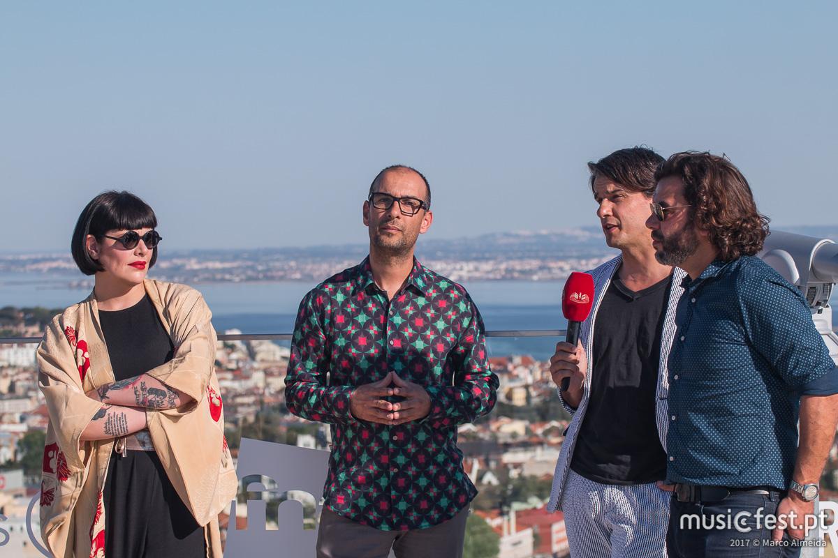 ALTAR subiu ao Miradouro 360º - showcase de apresentação do novo álbum dos The Gift