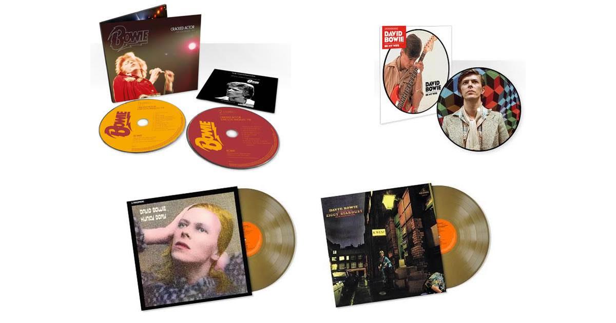 David Bowie - 4 reedições de luxo e limitadas a 16 de Junho