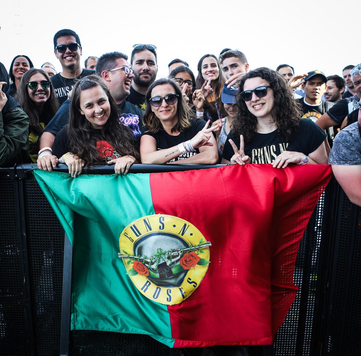 Guns N' Roses anunciam digressão europeia com passagem por Portugal em Maio