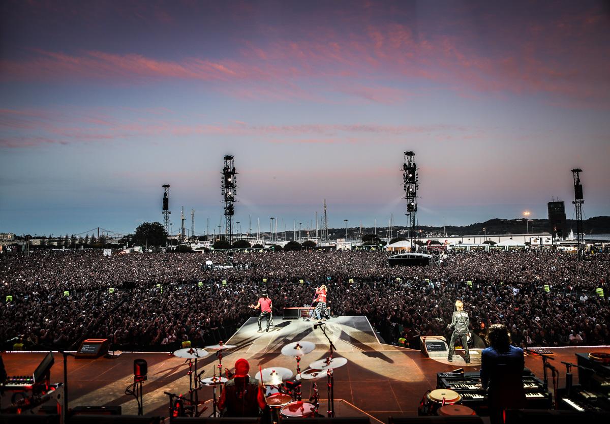 Concerto de Guns N' Roses em Portugal adiado para Junho de 2022