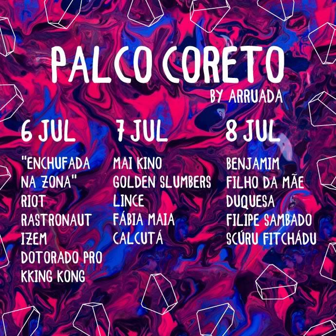 Palco Coreto by Arruada do NOS Alive junta os melhores projetos nacionais emergentes