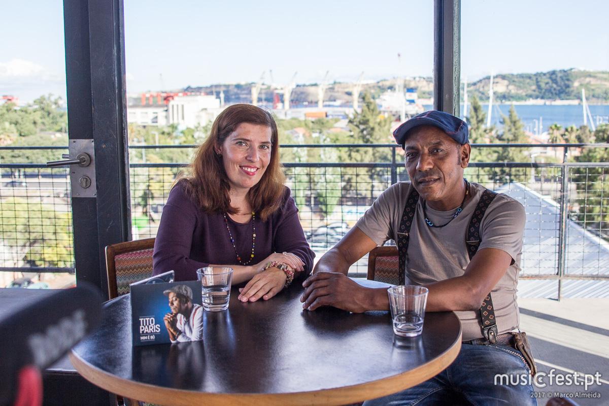 Revê aqui a entrevista que fizemos com Tito Paris a propósito de Mim ê Bô