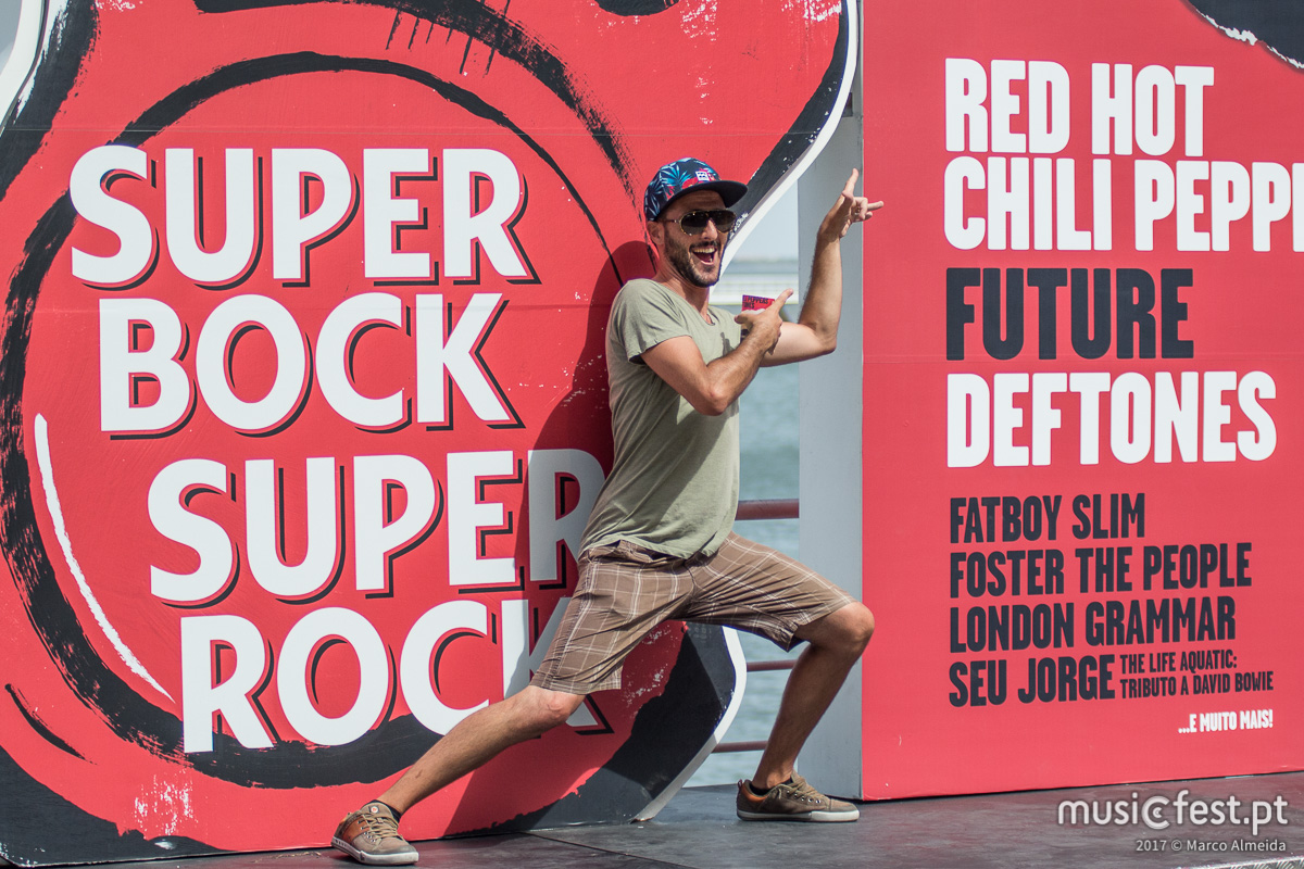 Super Red Hot Chili Rock Pepper - o 1º dia do SBSR 2017