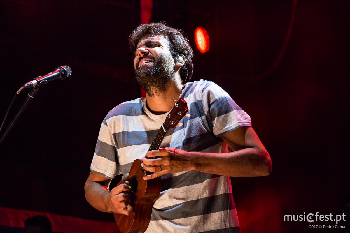Miguel Araújo no NOS Alive a 12 de Julho