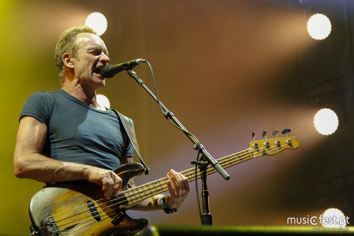 """Tour europeia de Sting: """"My Songs"""" passa pelo MEO Marés Vivas a 21 de Julho"""