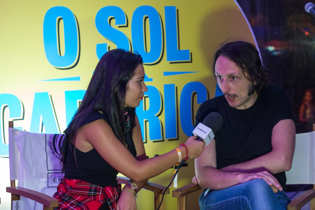 Entrevista com Samuel Úria n'O Sol da Caparica 2017
