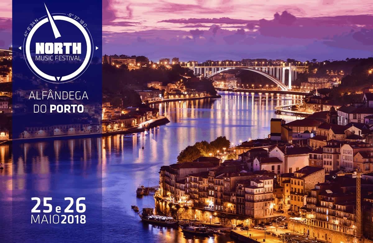 O North Music Festival 2018 realiza-se na Alfândega do Porto