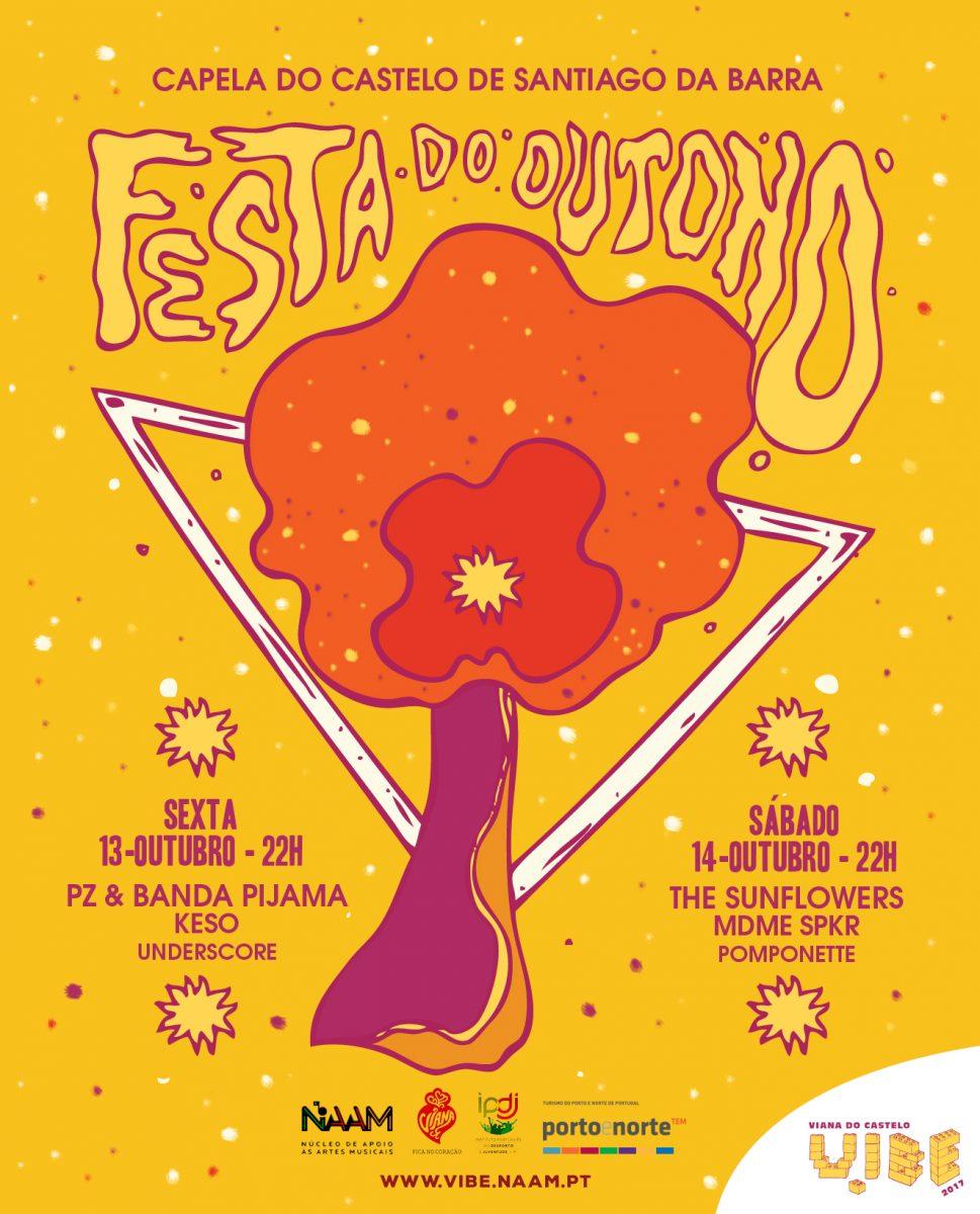 Festa do Outono Vibe 2017 a 13 e 14 de Outubro em Viana do Castelo